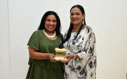 Rosa Rosado Quintero, periodista del año en el Cesar