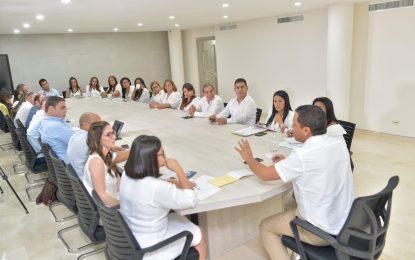 Gobernador iniciaen Aguachica talleres para formulación PDD 2020-2023