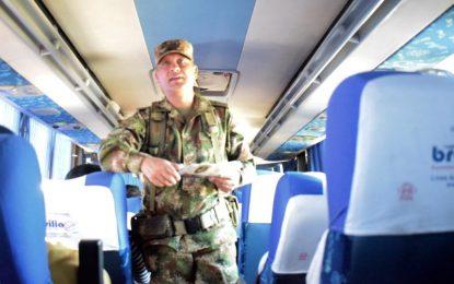 3.340 soldados en las vías del Cesar y Guajira