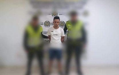Capturan en La Jagua de Ibirico a uno de los delincuentes más buscados por la Policía