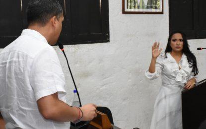 Posesionada Mary Flor Teherán Puello  como nueva Contralora de Valledupar