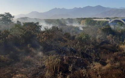 Seis incendios forestales en un solo día en Valledupar