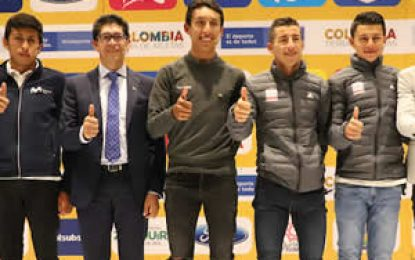 Con presentación de ciclistas se dio apertura al Tour Colombia 2.1