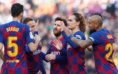 Futbolistas del FC Barcelona deberán someterse a controles de coronavirus al llegar a Italia