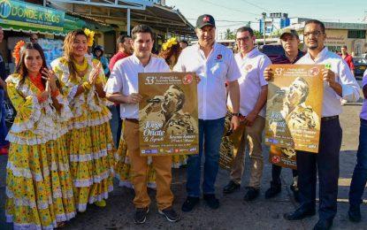 Con la entrega de afiches inician promoción del Festival de la Leyenda Vallenata