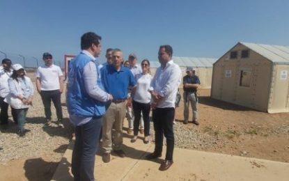 Embajador de Estados Unidos y gobernador de La Guajira recorrieron zona fronteriza
