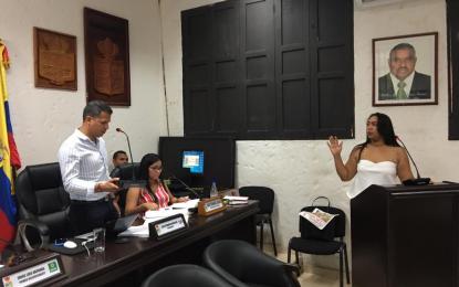 Lianis Gutiérrez asumió por encargo  la Personería Municipal de Valledupar