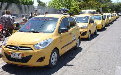 Gremio de taxistas acordó compás de espera con la Alcaldía para sentarse a dialogar