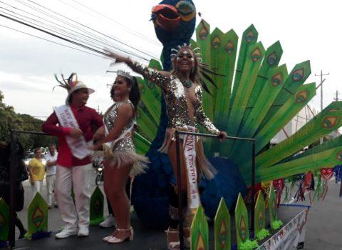 Valledupar revivió la euforia de sus carrozas en Carnaval
