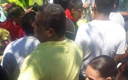 Comerciante de la Galería Popular  protestaron por masiva presencia  de vendedores ambulantes