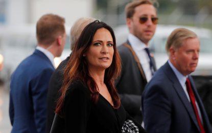 Dimite la secretaria de prensa de la Casa Blanca y se convierte en jefe de gabinete de Melania Trump
