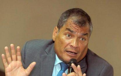 Condenado Rafael Correo a ocho años de cárcel