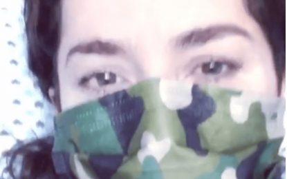 Danna García muestra angustiosos videos en clínica luchando contra COVID-19