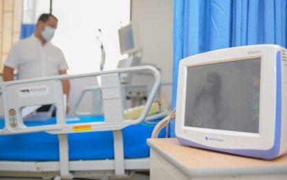 A 17 aumentan número de camas de UCI en el Hospital Rosario Pumarejo de López