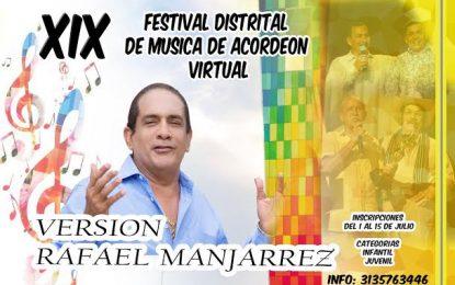 Festival Distrital de Música de Acordeón en Barranquilla, rinde homenaje a  Rafael Manjarrez