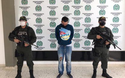 Dos capturados en flagrancia cuando recibían dineros producto de extorsiones en Valledupar