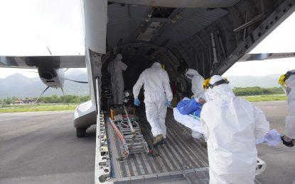 En avión de FAC: Gobernación del Magdalena gestionó a Bogotá,traslado de 12 heridos  por incendio en Puebloviejo