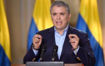 En el Día de la Independencia, Presidente Duque le envia un mensaje a los  colombianos en el exterior