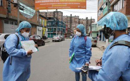 Colombia supera las 300 muertes por coronavirus en un día