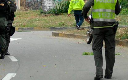 Seis policías heridos por disturbios en el Norte de Bucaramanga