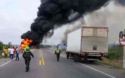 Ya son 38 losfallecidos porexplosión de camión en Puebloviejo