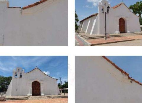 En peligro histórica Iglesia de Valencia de Jesús, a punto de caerse