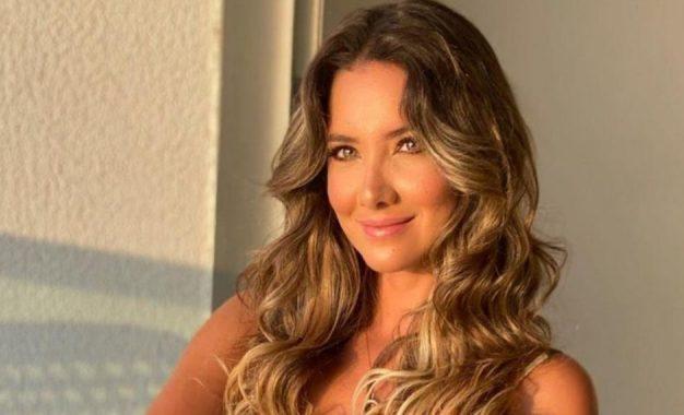 Daniella Álvarez mostró nuevo baile sin tapujos de nada