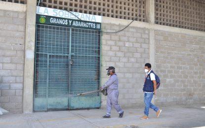 Avanzan labores de desinfección en Mercado  Público de Valledupar para prevenir contagios