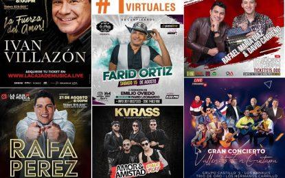 El género vallenato en los meses de agosto, septiembre y octubre, ratifica su liderazgo en los conciertos virtuales en Colombia