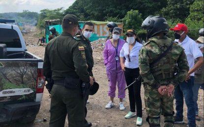 Contaminación ambiental azota a barrios  en la margen derecha del río Guatapurí