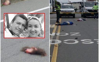 Espeluznante: Mezcladora de cemento decapitó a pareja en vía de Pereira [VIDEO+FOTOS+18]