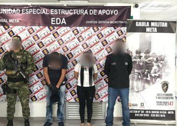 Detenidos presuntos responsables de cambiazo de tarjetas débito y crédito