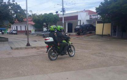 Dos policías resultaron heridos en un enfrentamiento en San Juan Nepomuceno (Bolívar)
