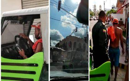 """""""El Mañiño"""" creyó ser uno de los Rápidos y Furiosos al llevarse un carro en Arjona, Bolívar"""