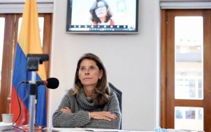 Marta Lucía Ramírez anuncia que tiene coronavirus