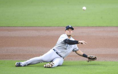 Giovanny Urshela nominado al guante de oro de la MLB