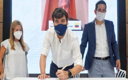 Emiratos Árabes entregó unidades de cuidados intermedios a Barranquilla