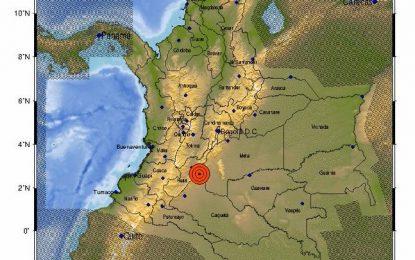 Fuerte temblor sacude varias ciudades de Colombia