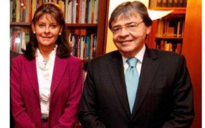 ¡Se fue Carlos Holmes! El mensaje de la vicepresidenta Marta Lucía Ramírez, por la muerte del ministro de Defensa