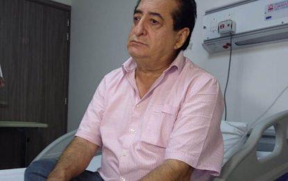 Así se fue complicando la salud de Jorge Oñate; pero la fe en una mejoría se mantiene