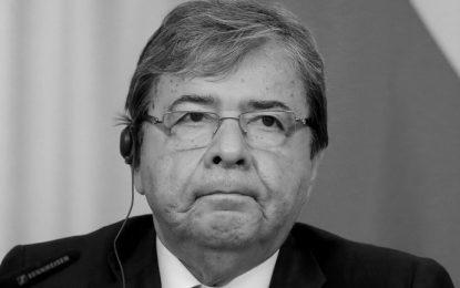 Falleció el ministro de Defensa, Carlos Holmes Trujillo a causa del covid-19