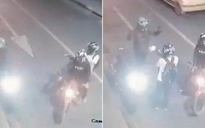 [Video] Mujer tuvo que ver cómo le dispararon a su esposo cuando la llevaba al trabajo