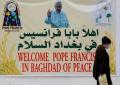 El papa Francisco viaja como 'peregrino de paz' después de tantas guerras en Irak