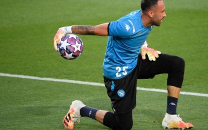 David Ospina sufrió nueva lesión con el Napoli