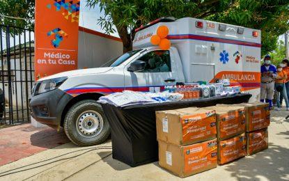 Cerro de San Antonio en el Magdalena, recibió del gobierno de Caicedo, una ambulancia completamente dotada en reemplazo de una vieja