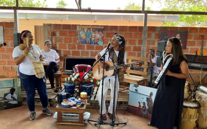 Niños de 'Tierra Grata' recibirán clases de música;  para incentiva la reconstrucción de memoria a través del arte y la cultura