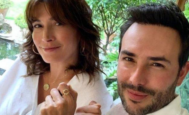 Sebastián Martínez contó si a Kathy Sáenz le incomoda que haga escenas de besos con otras actrices
