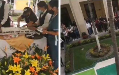Diputado le acabó la masiva fiesta de cumpleaños al gobernador
