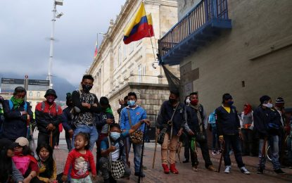 Más de 13.000 víctimas del conflicto armado han llegado a Bogotá en lo que va de la pandemia