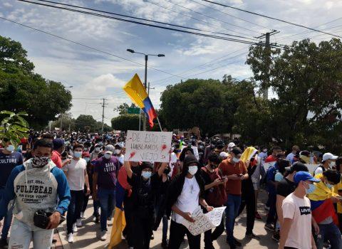 Centrales obreras y gremios  lograron marchar sin violencia